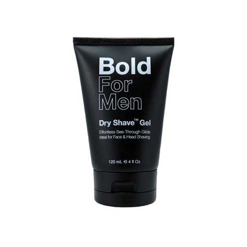 Bold For Men Dry Shave Gel: a Luxurious waterless shave