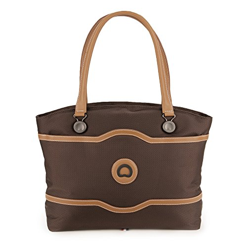 Delsey Luggage Chatelet Softside Women's Tote, Chocolate