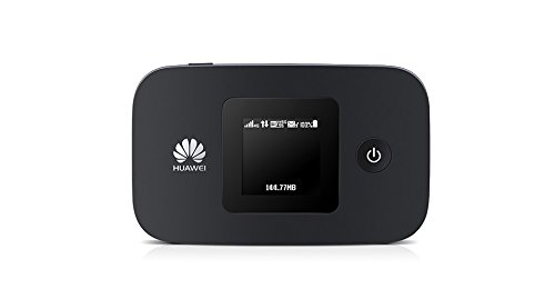 Huawei E5377s-32 150 Mbps 4G LTE & 43.2 Mpbs 3G Mobile WiFi Hotspot (4G LTE in Europe, Asia, Middle East, Africa & 3G globally) (Black)