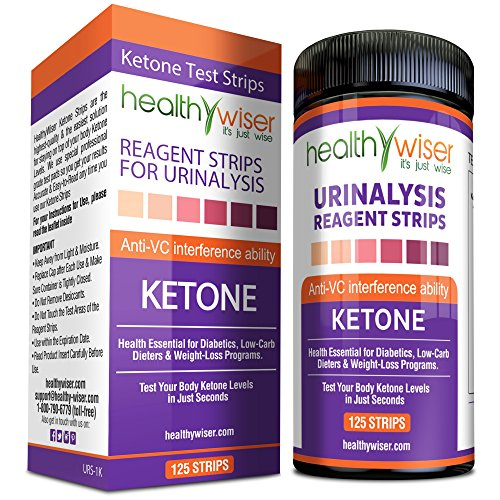 Ketone Strips 125ct Great For Diabetics Ketosis Professional