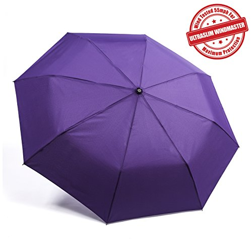 "Kolumbo ""Nonbreakable"" Windproof Umbrellas Tested 55 MPH BEWARE of Knockoffs Innovative & Patent Pending, Auto Open Close, Won't Break If Inverted, Durability Tested 5000 Times"