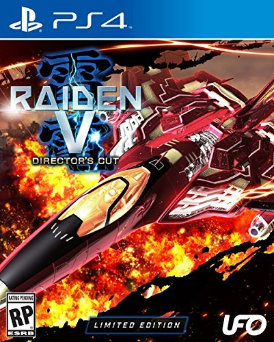 Raiden V: Director's Cut Limited Edition with Original Soundtrack CD - PlayStation 4