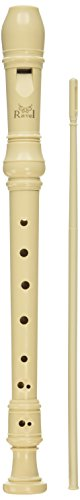 Ravel PR19V Ivory Recorder with Cleaning Rod and Bag
